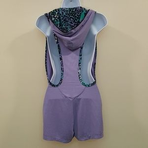 CCR Brand Other - CCR Brand Lavender Hoodie Romper